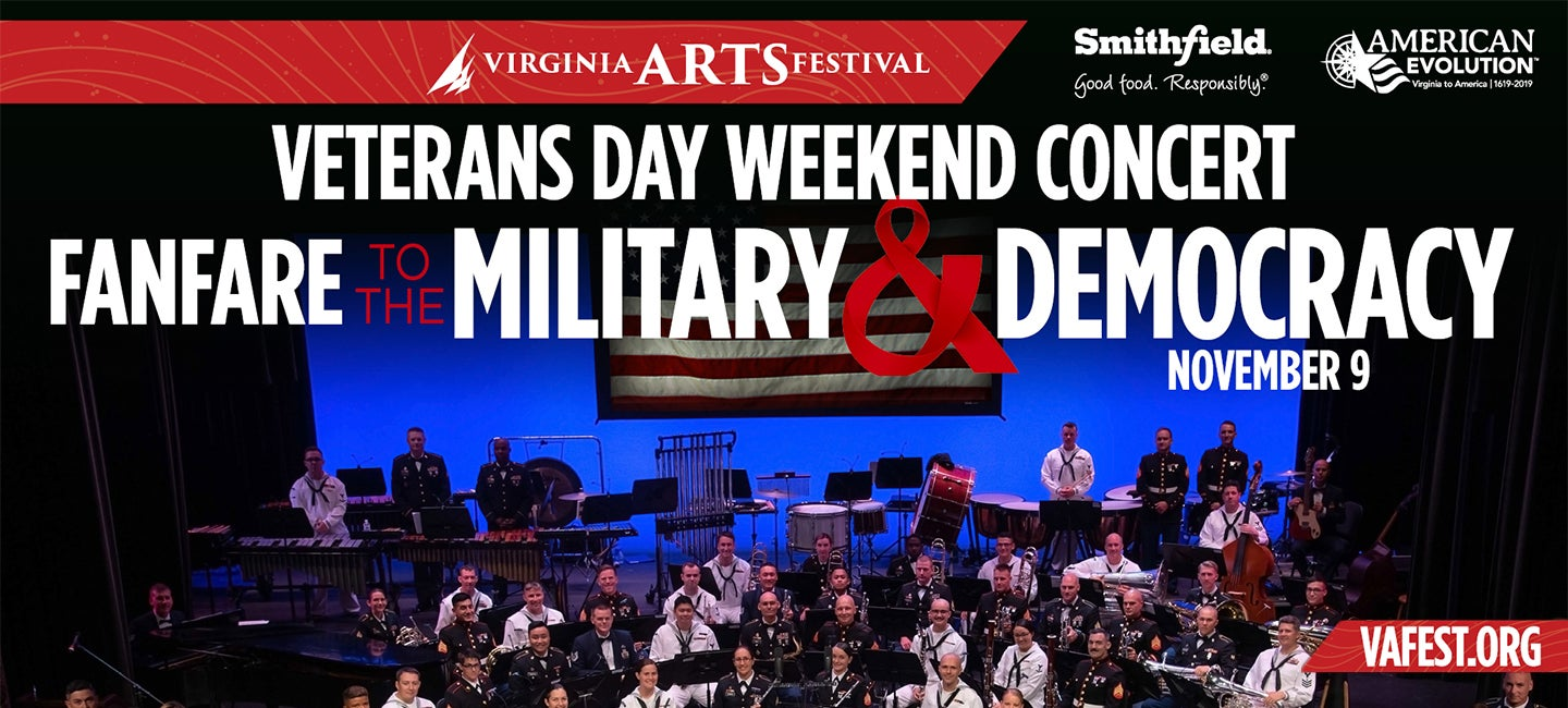 Strike Up The Bands for the Fanfare to the Military & Democracy Concert