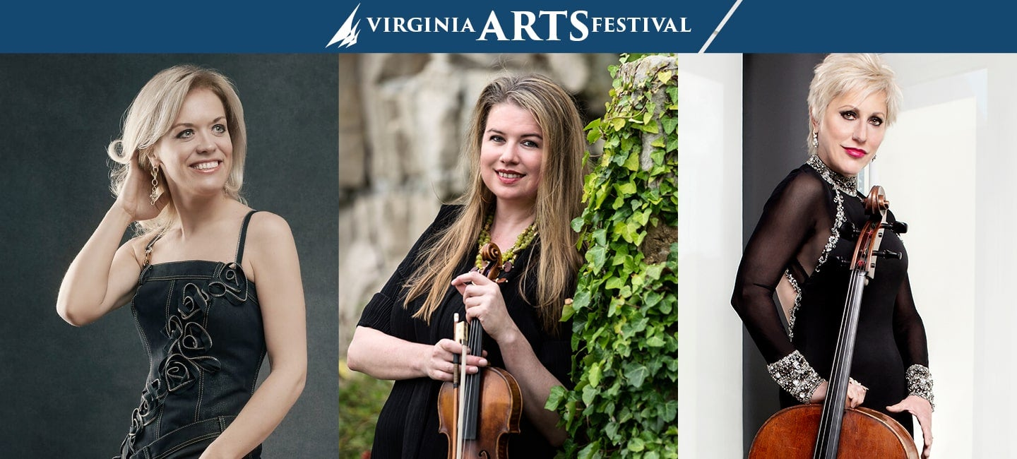 Olga Kern, Piano; Lara St. John, Violin; Amanda Forsyth, Cello, Morning Concert
