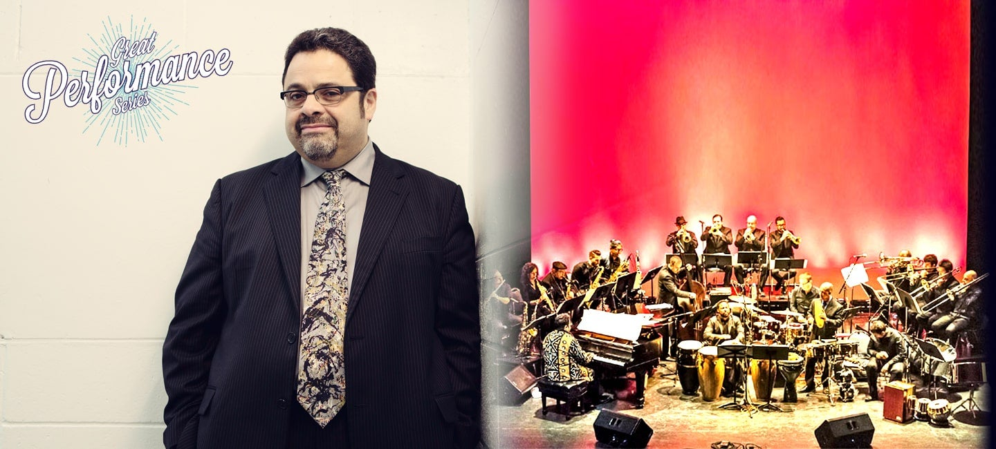 Arturo O'Farrill with the Afro Latin Jazz Ensemble