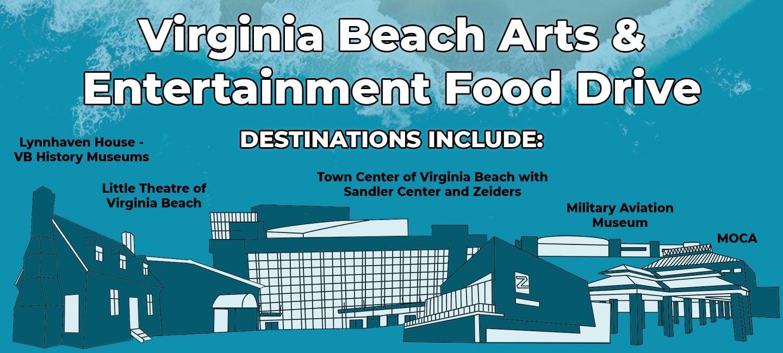 Virginia Beach Arts & Entertainment Food Drive