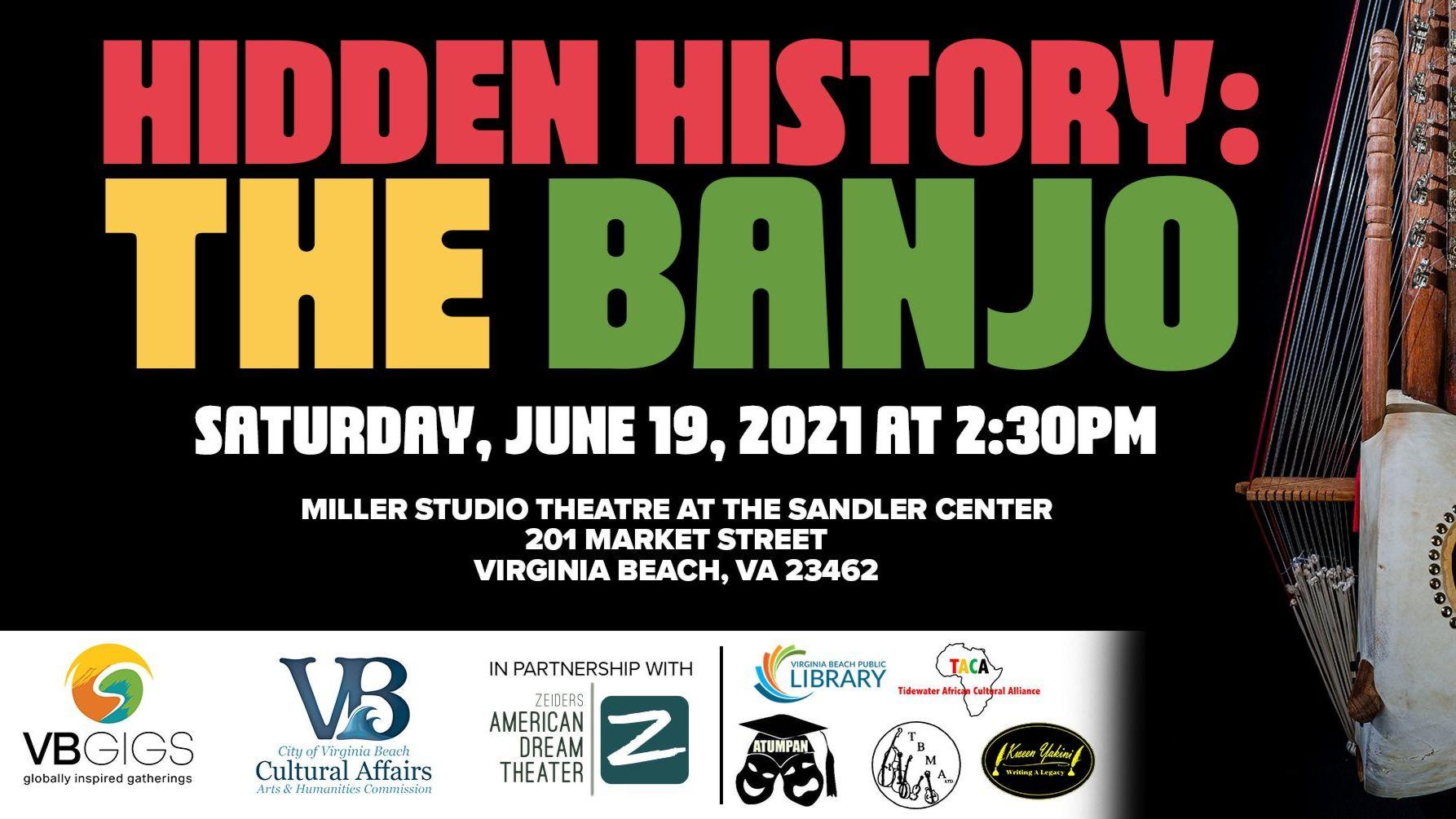 "VBGIGS Presents ""Hidden History: The Banjo"""