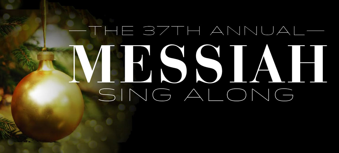 37th Free Annual Handel's Messiah Sing-Along