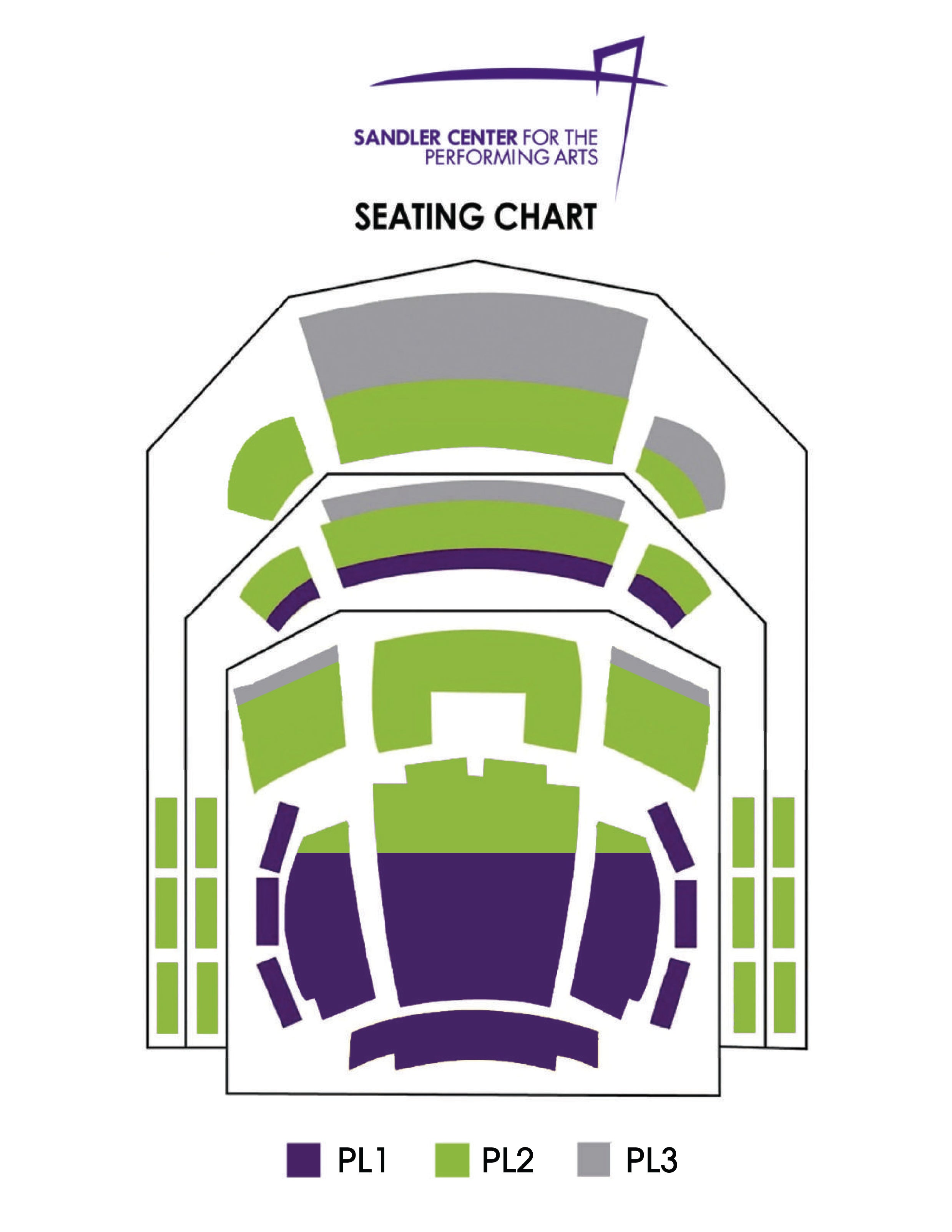 Great Performance Series Seating Chart