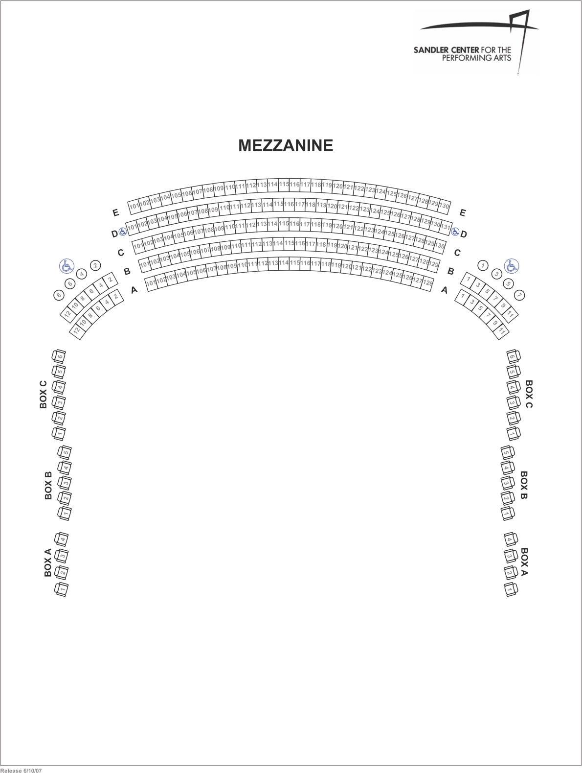 Mezzanine Seating