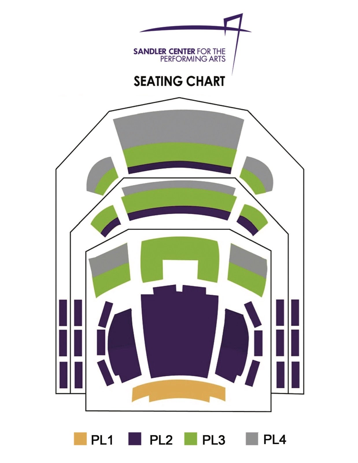 Sandler Center Seating